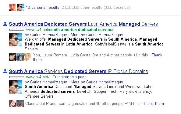 busqueda social google
