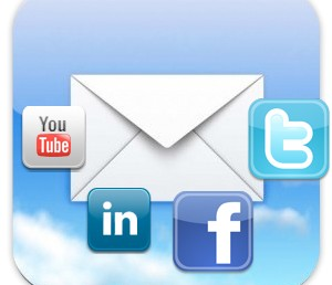 mail redes sociales