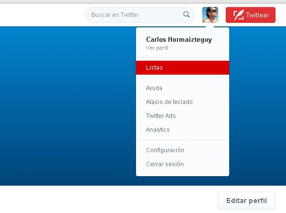 excusas usar twitter